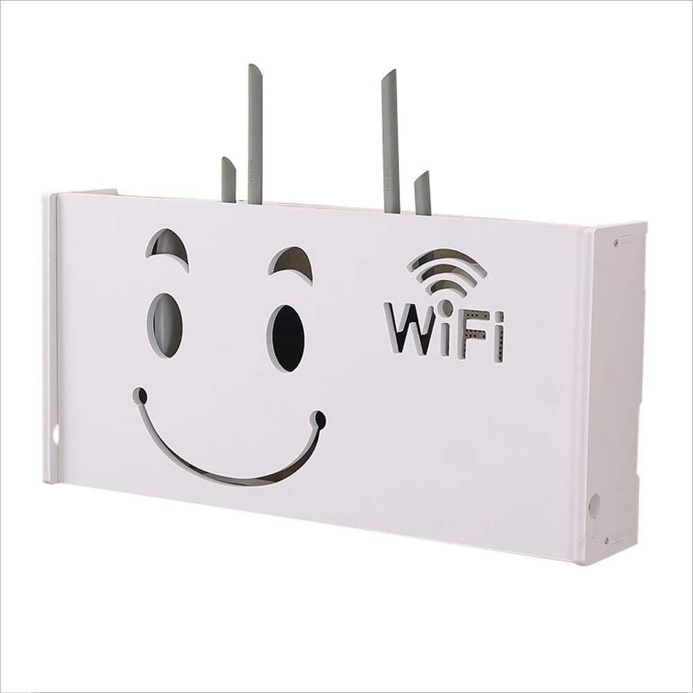 FU HOME Routeur WIFI Rack/boî te de rangement é tagè re de stockage de té lé phone é tanche dé coration murale de routeur FUYUAN TC