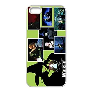 JenneySt Phone CaseWicked The Musical Pattern Wallpaper For Apple Iphone 5 5S Cases -CASE-6