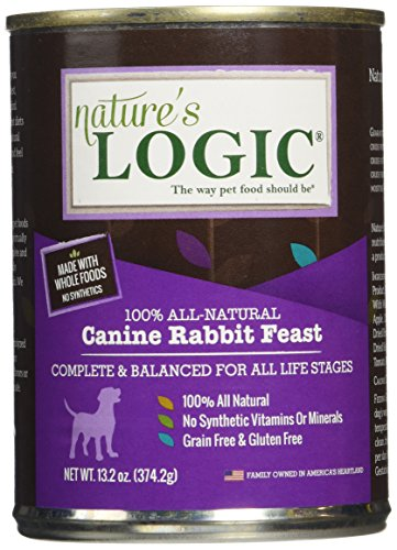 Nature'S Logic Rabbit Canned Dog Food, 12-13.2 Oz. Review