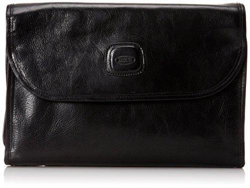 Bric's Luggage Life Pelle Tri-Fold Traveler, Black, One Size