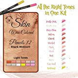 Light Skin Tone Colored Pencils for Adults