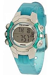 Timex Marathon Digital Mid-Size Watch - Light Blue