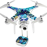Skin For DJI Phantom 3 Professional – Ocean Friends | MightySkins Protective, Durable, and Unique Vinyl Decal wrap cover | Easy To Apply, Remove, and Change Styles | Made in the USA