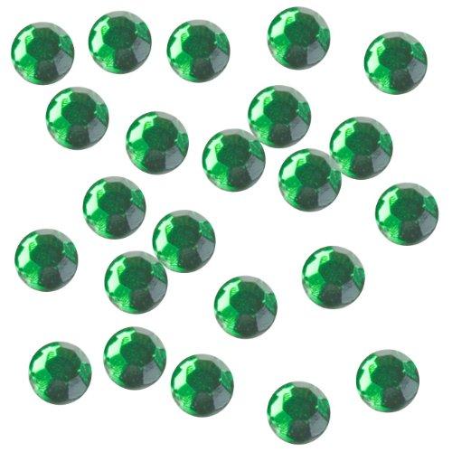 Rhinestone Genie Embellishment Hot Fix Rhinestones, Emerald (Hot Glitter Fix)