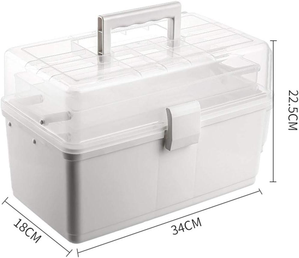 Cestbon Hausapotheke Box Gro/ß Medikamentenbox Abschlie/ßbar Medizinschr/änke Medizinbox Medikamenten Box Aufbewahrungsbox F/ür Hause Und Urlaub,Wei/ß