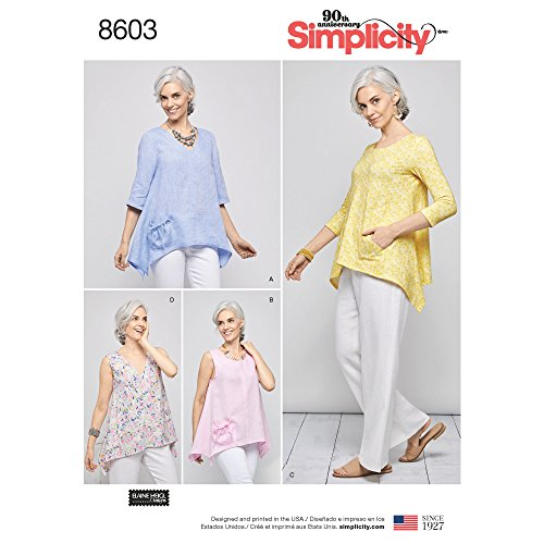 Simplicity Creative Patterns Vest, JKTS, Coats Tops, A (A (XS-S-M-L-XL)