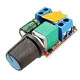 dc motor control - SODIAL(R) Mini DC Motor PWM Speed Controller 3V 6V 12V 24V 35VDC 90W 5a DC Motor Speed Control Switch LED Dimmer