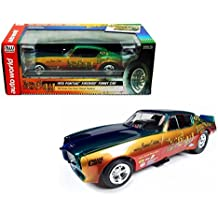 New 1:18 AUTO WORLD AMERICAN MUSCLE COLLECTION - MULTI FUNNY CAR 1970 PONTIAC FIREBIRD DON GAY Diecast Model Car By Auto World