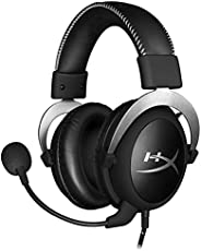 HyperX HX-HSCL-SR/NA Cloud Silver - Fone de Ouvido, compatível com PS4, Xbox One e PC, Preto (Black/Silver)