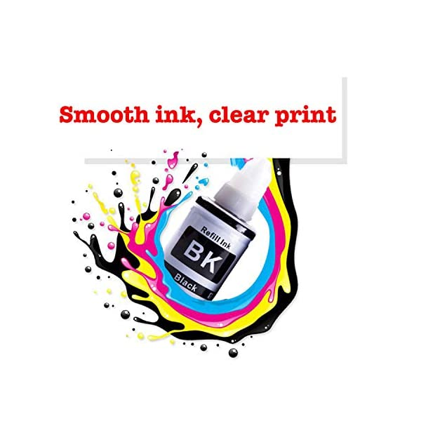 Proffisy Ink Refill for Canon G Series GI 790 Compatible Canon PIXMA G1000,G1010,G1100,G2000,G2002,G2010,G2012,G2100,G3000,G3010,G3012,G3100,G4000,G4010 (4 Color)