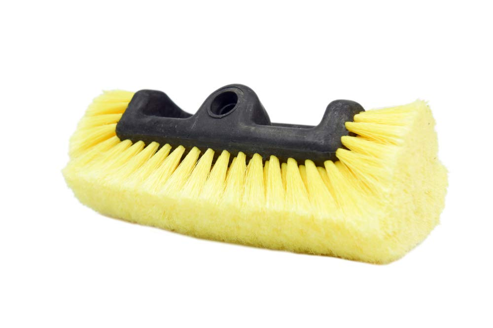 "CARCAREZ Soft Bristle 10"" Car Wash Brush}"