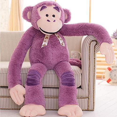 YDGHD Lindo Creativo Gorila Muñeca De Hip-Hop Mono Bocazas Mono De Peluche Muñeca del Día De Los Niños para Enviar A Las Niñas Púrpura 135 cm: Amazon.es: Juguetes y juegos