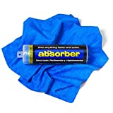 "The Absorber Synthetic Drying Chamois, 27"" x 17"", Blue"