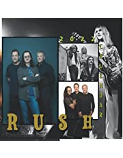 RUSH Calendar 2022: 12 Months with Perfect Quality Images and large Planning Grid Calendar 2022 For RUSH Fans