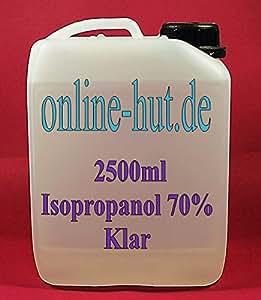 online sombrero 2 5 litros alcohol isoprop lico isopropanol 70 belleza. Black Bedroom Furniture Sets. Home Design Ideas