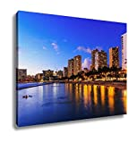 Ashley Canvas, Honolulu Hawaii, Home Decoration Office, Ready to Hang, 20x25, AG6402631