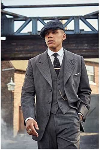 Amazon.com: Peaky Blinders Jordan Bolger as Isiah Walking Hand in Pocket Looking Handsome and Tough 8 x 10 Inch Photo: Coleccionables de entretenimiento