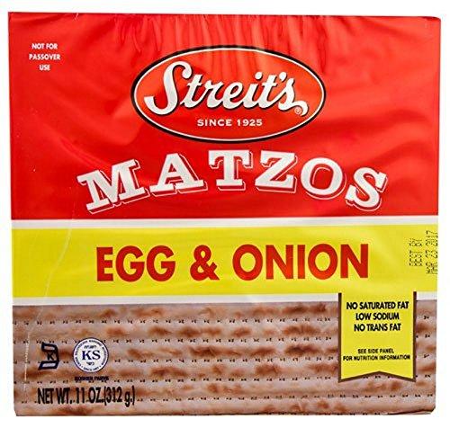 Streits Matzo Egg Onion by Streit's