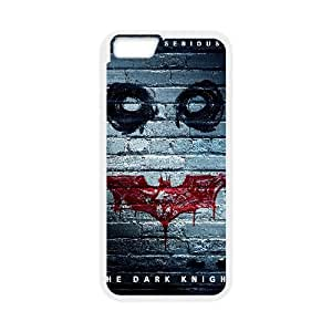 The Dark Knight Movie iPhone 6 Plus 5.5 Inch Cell Phone Case White gift pp001_6479261