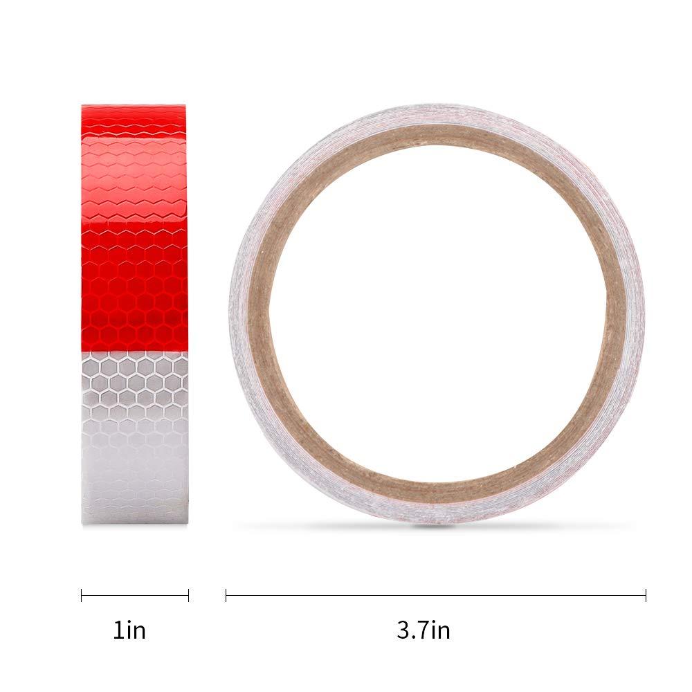 Amazon.com: Rollo de cinta reflectante autoadhesiva de panal ...