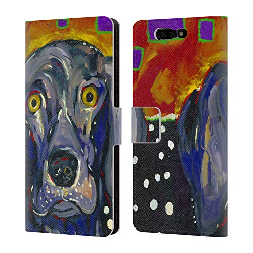 Official Mad Dog Art Gallery Winston Dogs Leather Book Wallet Case Cover for Xiaomi Black Shark