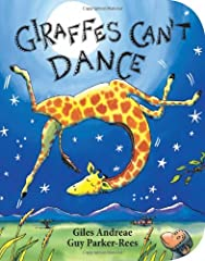 The bestselling Giraffes Can't Dance is now a board book!Giraffes Can't Dance is a touching tale of Gerald the giraffe, who wants nothing more than to dance. With crooked knees and thin legs, it's harder for a giraffe than you would th...