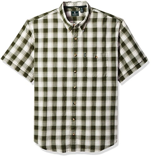 G.H. Bass & Co. Men's Size Big and Tall Short Sleeve Madawas