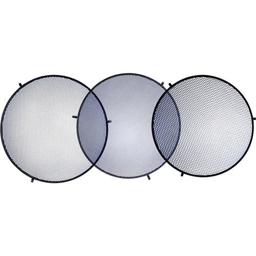 Glow Honeycomb Grid Kit for 28'' Beauty Dish - 20, 30 & 40 Degree by Glow