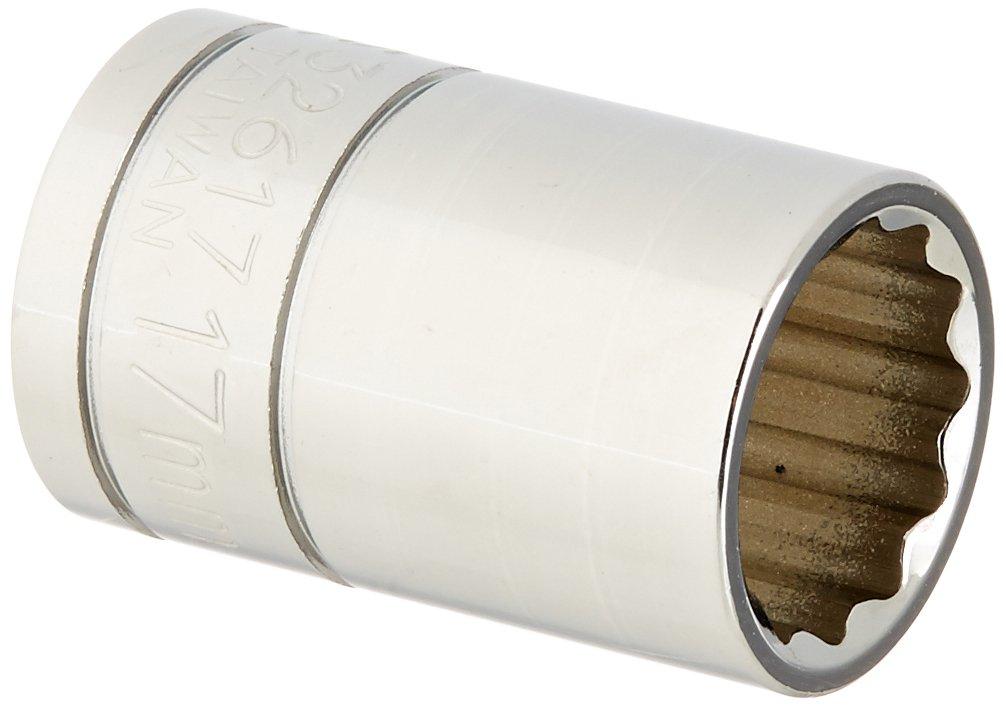 1//2 Drive Williams 32617 17mm Shallow 12 Point Socket