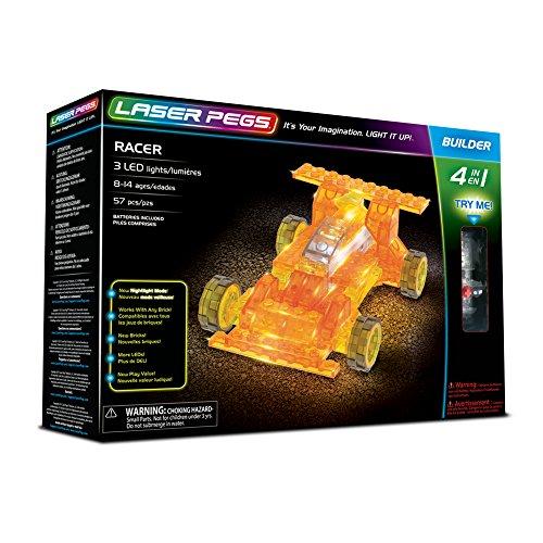 Laser Pegs Racer 4In1