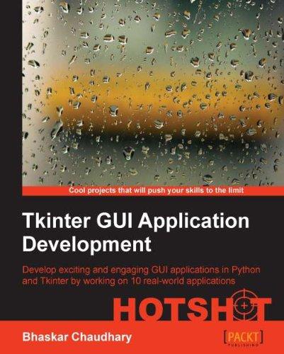 Download Tkinter GUI Application Development HOTSHOT Pdf