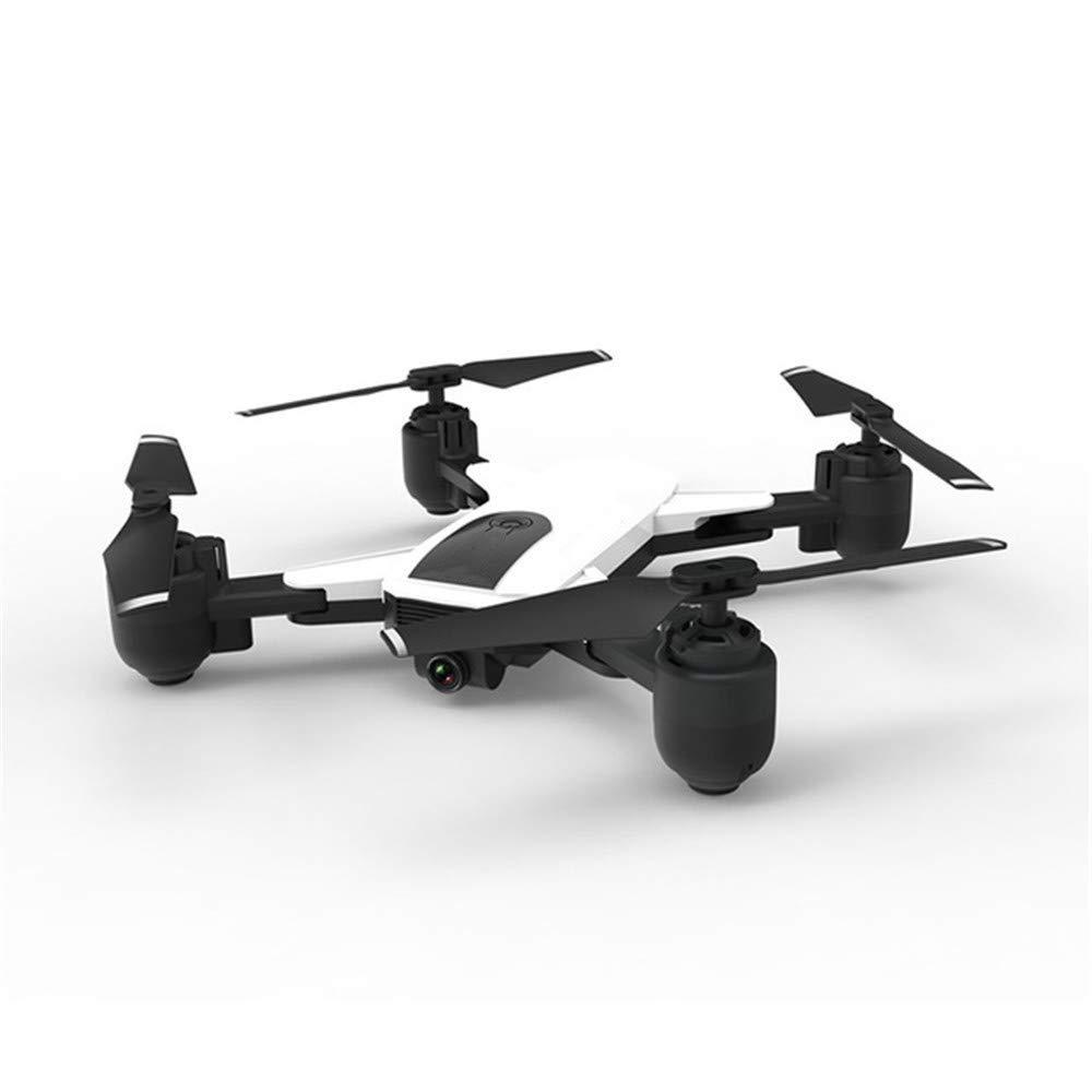 ILYO Mini drone e telecamera per adulti GPS con doppio posizionamento di precisione intelligente ritorno in HD seguito da aereo 5G telecomando, bianco