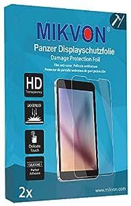 2x Mikvon Película blindada protección de pantalla Samsung S6310 Galaxy Young Protector de Pantalla - Embalaje y accesorios