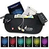 2-rfid-money-belt-for-travel-with-1x-passport-and-6x-credit-card-protector-rfid-sleeves