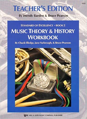 Music theory & history workbook (Standard of Excellence Book 2 ...