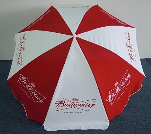 Captivating Amazon.com : BUDWEISER BUD BEER LOGO LARGE BEACH STYLE UMBRELLA NEW :  Garden U0026 Outdoor