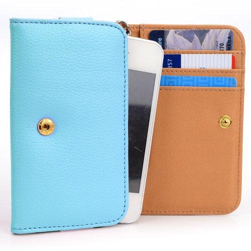 Price comparison product image Microsoft Lumia 532, Microsoft Lumia 532 Dual SIM Fashion PU Leather Phone Case [Wallet] Wrist-let