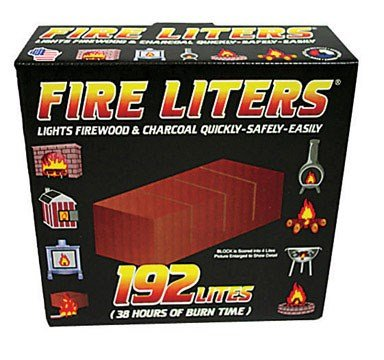 FIRE LITERS 10192 (192 Pack) 192PK Fireplace Lighter, 1, tan (Starters Fireplace Fire)