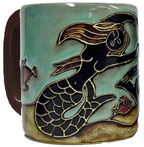 Mara Stoneware Mug - Mermaid - 16 oz