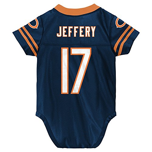 Outerstuff Alshon Jeffer NFL Chicago Bears Infant Newborn Creeper Replica Jersey (3M-9M)