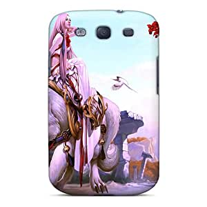 UGfNhHB828leuSD William M Anaximander Princess Day Out Durable Galaxy S3 Tpu Flexible Soft Case