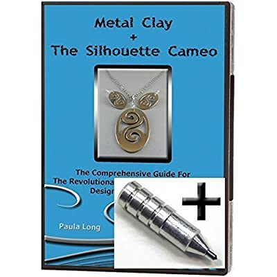 "$10 OFF ~ BUNDLE 2 Items: Video Instruction Guide ""Metal Clay + The Silhouette Cameo : The Comprehensive Guide for the Revolutionary Tool in Jewelry and Art Design & Construction"" + The Etching Tool"