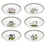 Portmeirion Botanic Garden Soup Plate, Set of 6 Assorted Motifs