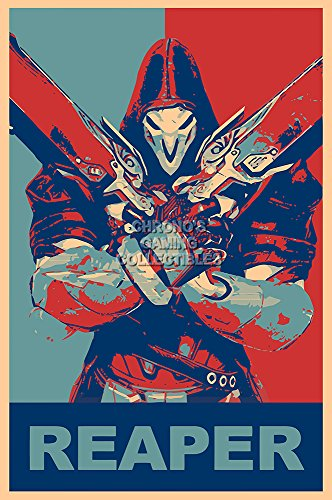 CGC Huge Poster - Overwatch Reaper Ps4 Xbox One PC