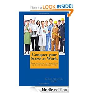 Conquer your Stress at Work for Kindle and other e-readers