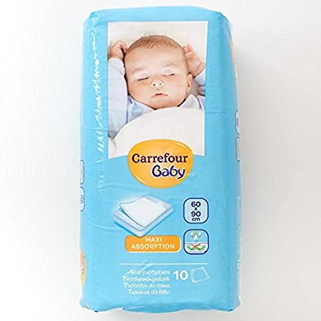 Carrefour bebé Colchón Mats 60x90cm 10 por paquete: Amazon ...
