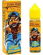 Cush Hombre Nasty Juice Variedad E-Líquido 50 ml 70vg 30pg E-Líquido para cigarillo electrónico sabor Fresa Strawberry Sensation sin nicotina Todo sabor (Mango Banana)