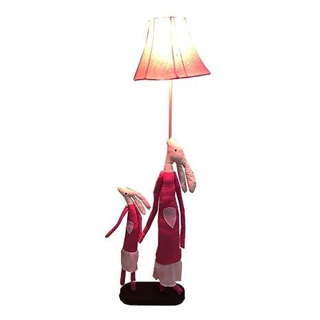 Lámpara de piso para padres e hijos de dibujos animados ...