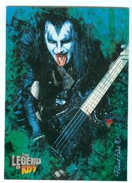 Kiss Card (Gene Simmons trading card Kiss The Legend 2010 #4)