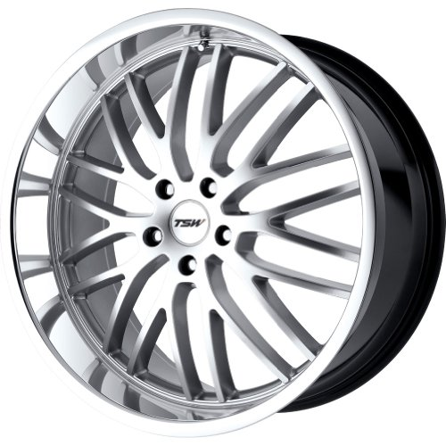 (TSW Alloy Wheels Snetterton Hyper Silver Wheel (18x8